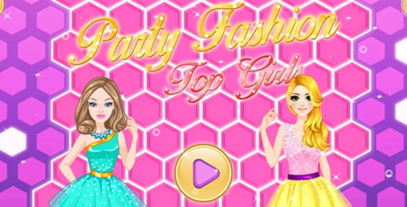 Party Fashion Girls - Unity Game
