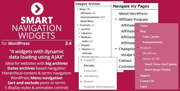 Smart Navigation Widgets - Plugin for WordPress