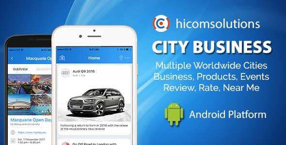 City Business Information - Android App by HiComSolutions