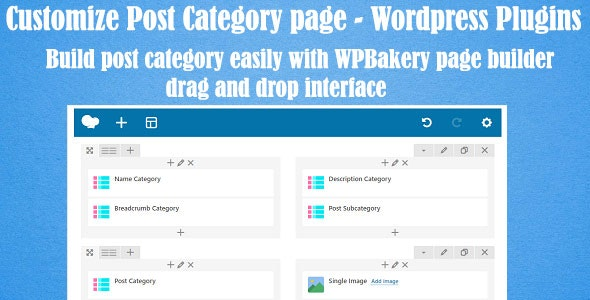 Customize Post Categories For WPBakery Page Builder (formerly Visual Composer) - CodeCanyon Item for Sale