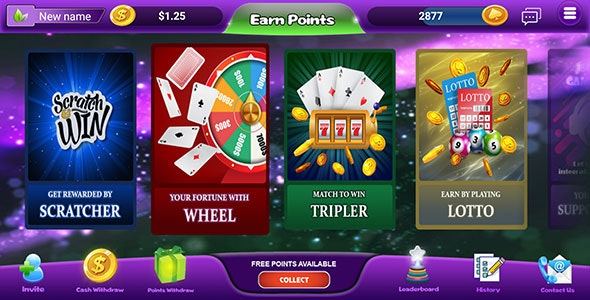 MintReward - gaming edition of rewards app incl Backend - CodeCanyon Item for Sale