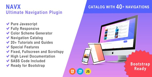 Navigation Plugins, Code & Scripts from CodeCanyon