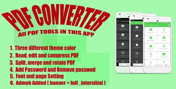 PDF Converter & Edit | Image to PDF Converter with Admob