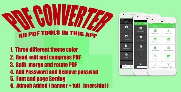 PDF Converter & Edit | Image to PDF Converter with Admob by