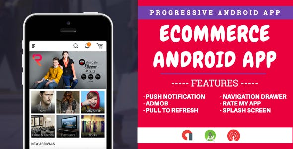 Progressive Android Web App For Ecommerce