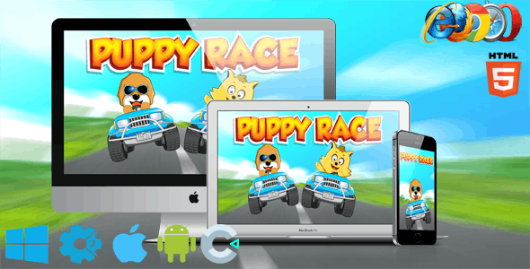 Puppy Race - CodeCanyon Item for Sale