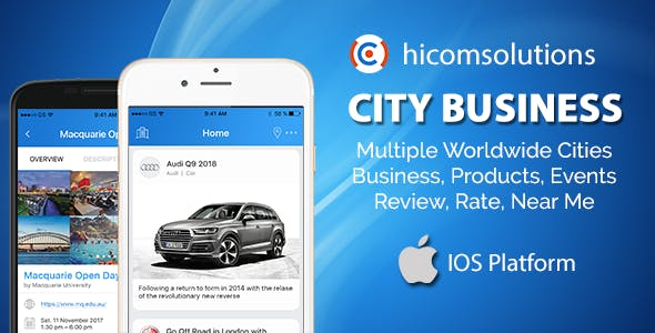 City Business Information - iOS App