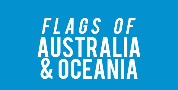 Australia and Oceania Flags Quiz Game