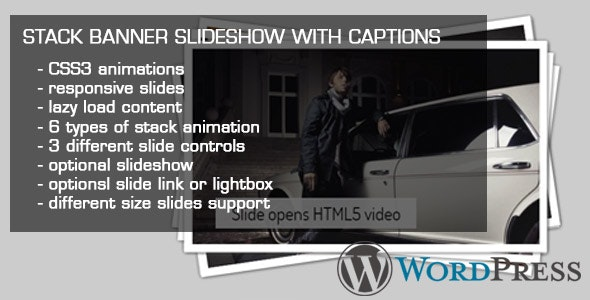 Stack Banner Slideshow With Captions - CodeCanyon Item for Sale