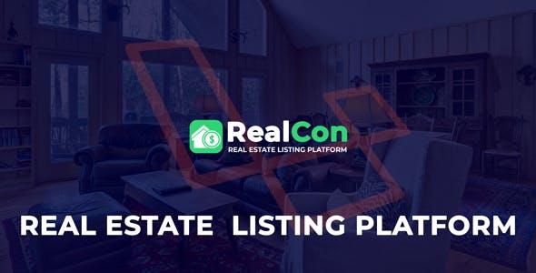 RealCon - Property Listing Platform