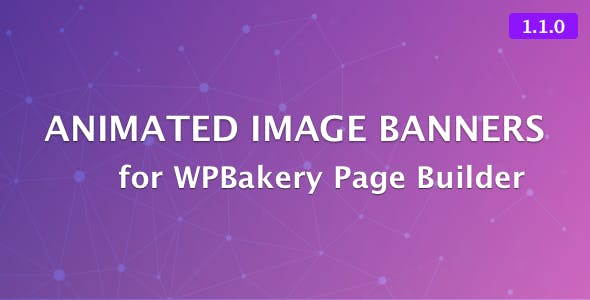 Animated Image Banners for WPBakery Page Builder