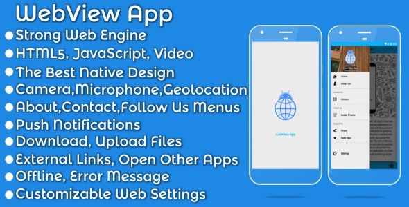Android Webview App - CodeCanyon Item for Sale