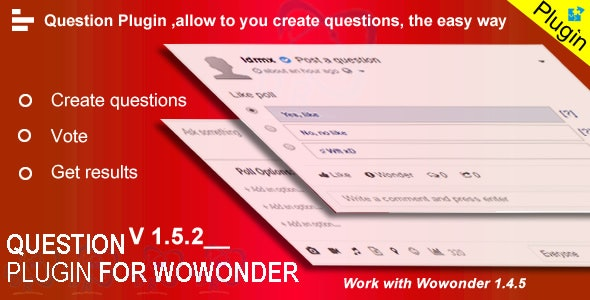 Question Plugin For Wowonder By Ldrmx Codecanyon