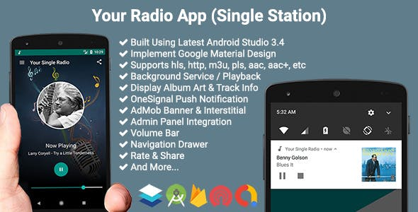 Your Radio App (Single Station)