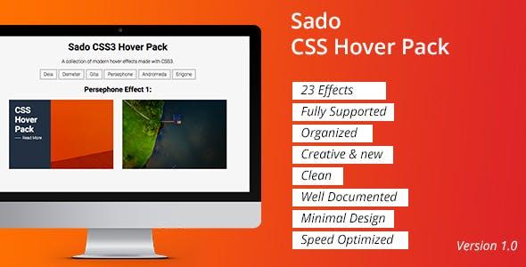 Sado CSS Hover Pack