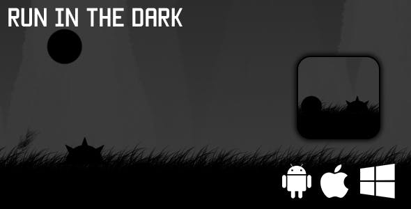Run in the dark - HTML5 Game (CAPX)