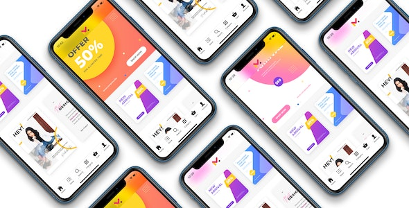 Ionic WooCommerce marketplace mobile app - WCFM Marketplace - CodeCanyon Item for Sale
