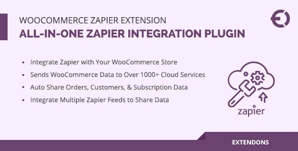 WooCommerce Zapier Extension, All-in-One Zapier Integration Plugin
