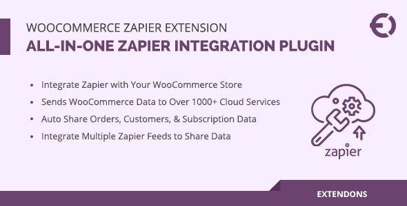 WooCommerce Zapier Extension, All-in-One Zapier Integration Plugin - CodeCanyon Item for Sale