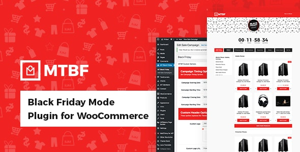 Black Friday Mode Plugin for WooCommerce - CodeCanyon Item for Sale