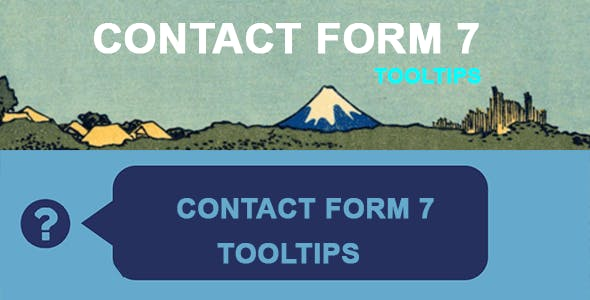 Contact Form 7 Tooltips