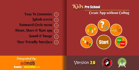 Kids Pre-School Educational app - CodeCanyon Item for Sale