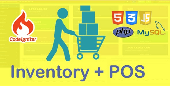Elegant POS-Inventory Management System - CodeCanyon Item for Sale