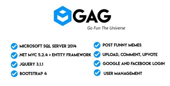 8GAG -  Social media site