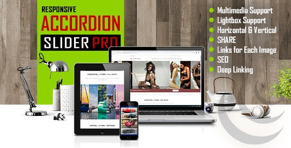 Accordion Slider PRO - Responsive Image And Video jQuery Plugin
