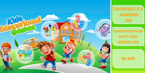 Kids Educational Games - CodeCanyon Item for Sale