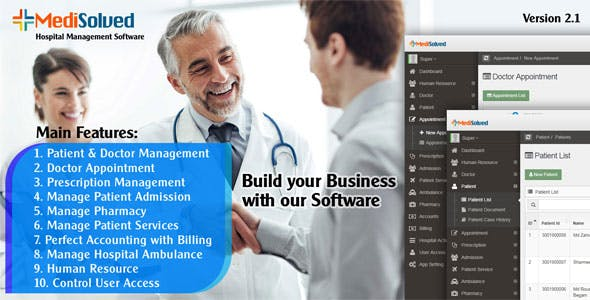 Medisolved Hospital Management Software