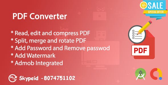 PDF Creator, PDF Converter & PDF Edit | Admob