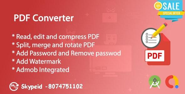 PDF Creator, PDF Converter & PDF Edit | Admob by richlabs