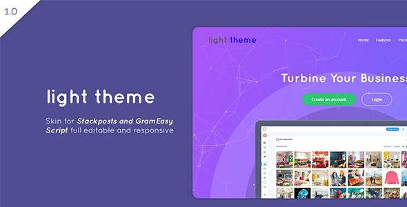 Light – Theme for Stackposts and GramEasy - CodeCanyon Item for Sale