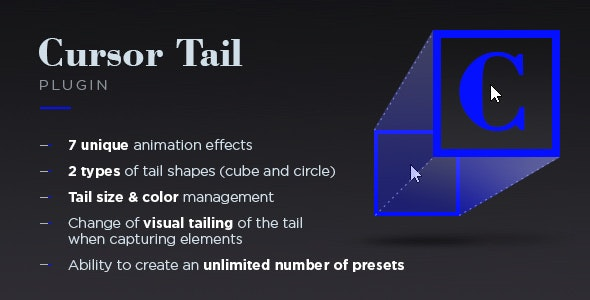Cursor Tail - CodeCanyon Item for Sale