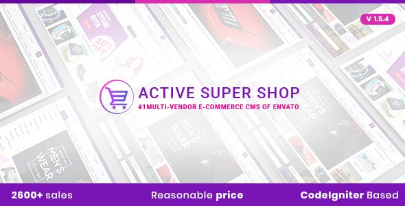 Active Super Shop Multi-vendor CMS
