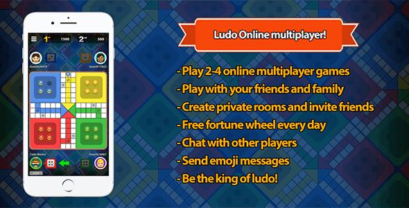 Ludo STAR Multiplayer Unity3D by BestCodes | CodeCanyon