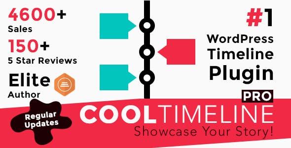 Cool Timeline Pro - WordPress Timeline Plugin - CodeCanyon Item for Sale