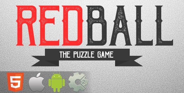 Red Ball - The Puzzle Game - HTML5 Game + Mobile Version! (Construct 2 / CAPX) - CodeCanyon Item for Sale