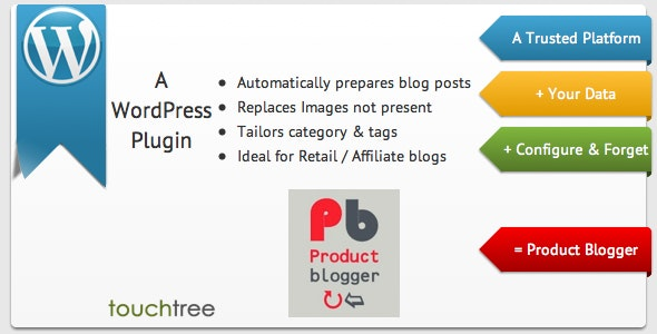 WordPress Product Blogger - CodeCanyon Item for Sale