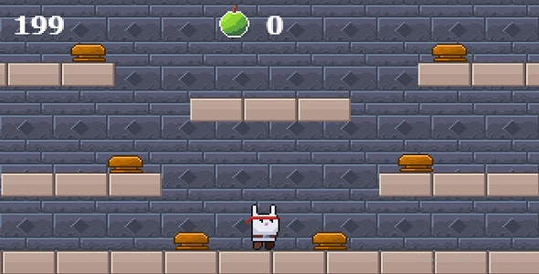 Jumping ninja rabbit - CodeCanyon Item for Sale