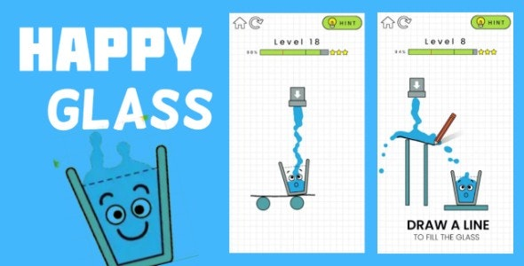 Happy Glass - Full Unity Project with Admob - CodeCanyon Item for Sale