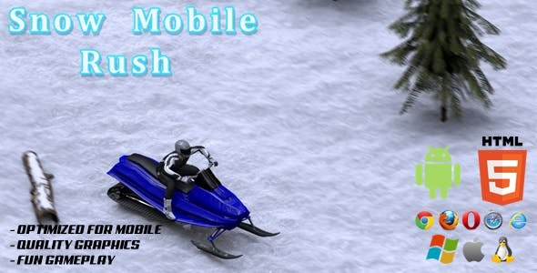 Snow Mobile Rush (Endless)