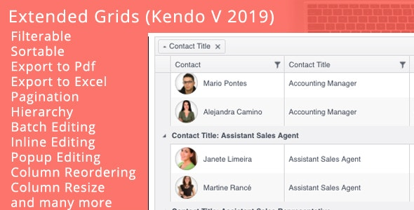 Extended Kendo Grids by mAftab93   CodeCanyon