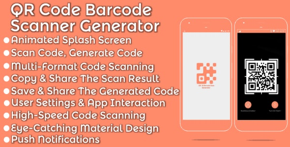 QR Code Barcode Scanner Generator - CodeCanyon Item for Sale
