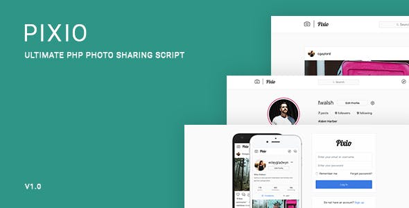 Pixio - Ultimate PHP Photo Sharing Script