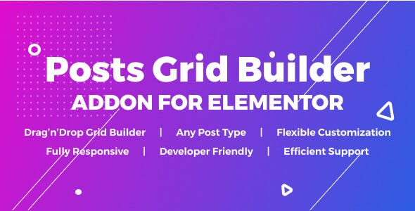 Posts Grid Builder for Elementor