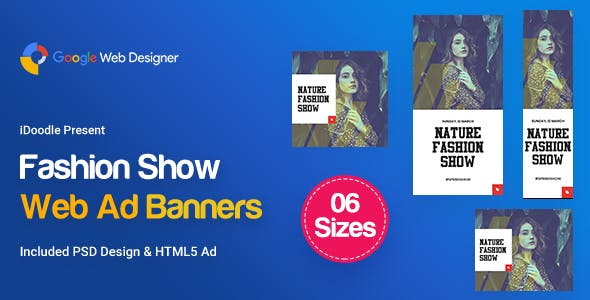 C06 - Fashion Show Banners GWD & PSD
