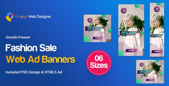 C07 - Fashion Sale Banners GWD & PSD