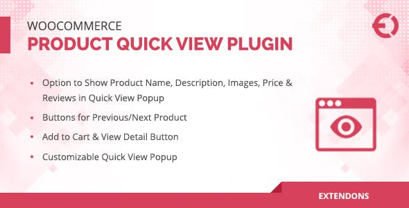 WooCommerce Product Quick View Plugin